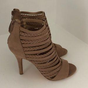 New Lauren Conrad tan heels